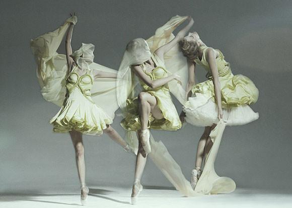 Dynamiczne fotografie mody - Balet - Jan Masny - zdjęcie 4