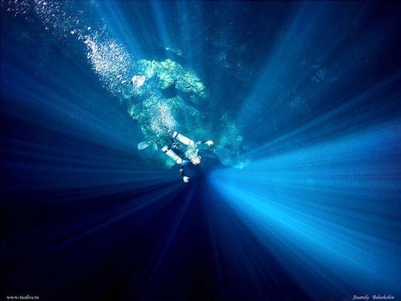 Podwodne jaskinie - Anatoly Beloshchin - zdjęcie 10