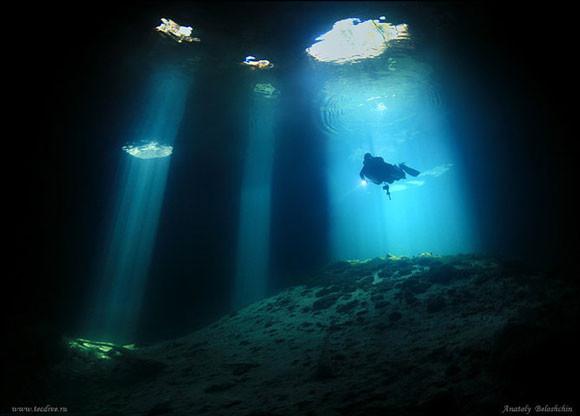 Podwodne jaskinie - Anatoly Beloshchin - zdjęcie 5
