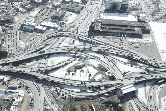 Węzły autostradowe zdjęcie - Peter Andrew - fotografia 1