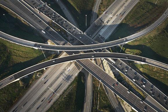 Węzły autostradowe zdjęcie - Peter Andrew - fotografia 2