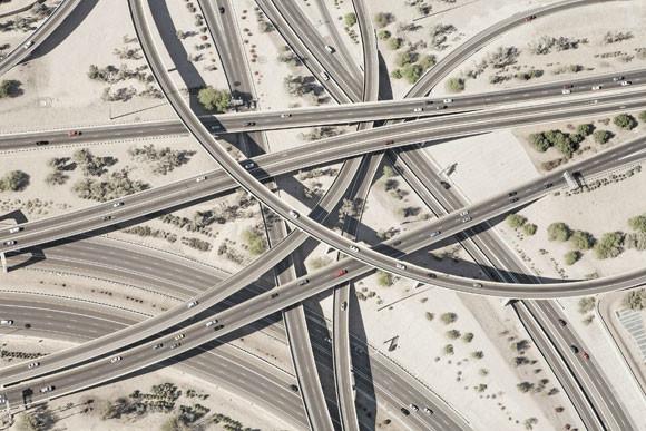 Węzły autostradowe zdjęcie - Peter Andrew - fotografia 3