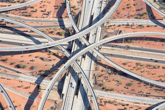 Węzły autostradowe zdjęcie - Peter Andrew - fotografia 6