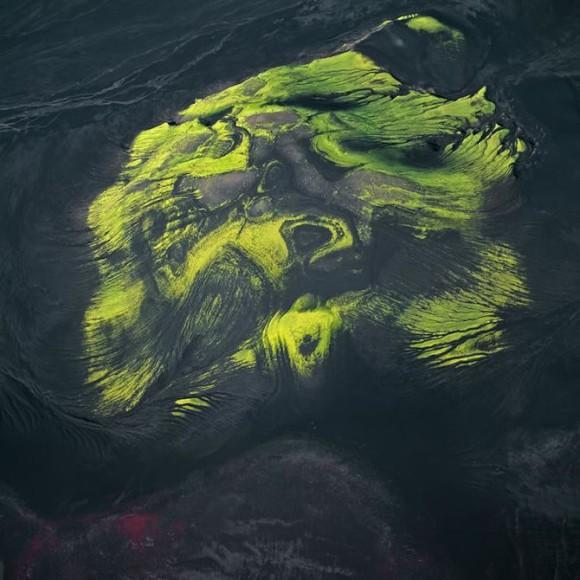 Zdjecia z nieba, kolory ziemi - Bernhard Edmaier, zdjęcie