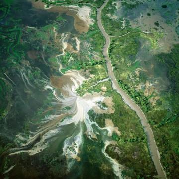 Zdjecia z nieba, kolory ziemi - Bernhard Edmaier, zdjęcie 3